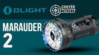 [Unbox] Mở hộp đèn pin OLIGHT MARAUDER 2-Chiếu sáng rộng và xa kết hợp-Chuyentactical.com