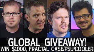 GIVEAWAY! Win $1,000, Fractal Define Nano S, Cooler & PSU!