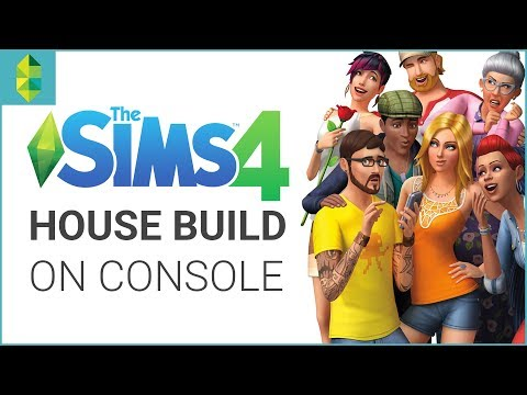 The Sims 4 CONSOLE House Building on PS4!