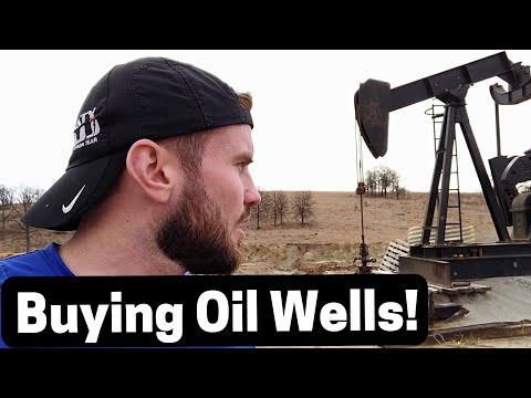 Going to Buy Some Oil Wells in Oklahoma!