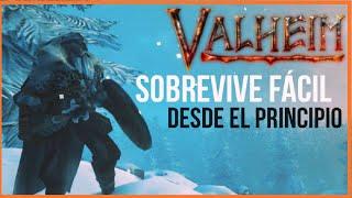 VALHEIM GAMEPLAY ESPAÑOL ✅ GUIA BASICA PARA SER UN PRO