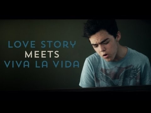 Love Story Meets Viva la Vida (Taylor Swift / Coldplay Mashup) 10 Piano Tracks - Tanner Townsend