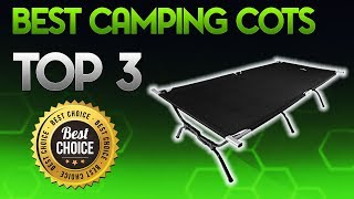 Best Camping Cots 2019 - Camping Cot Review