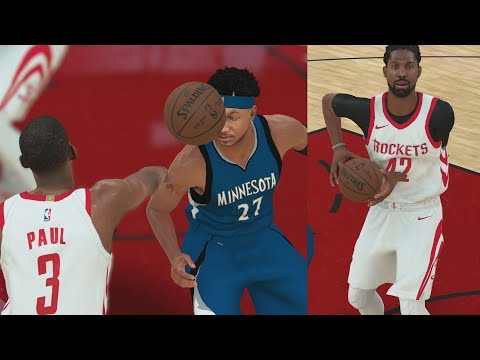 Download Youtube: NBA 2K18 My Career - CP3 Harden Cheesing! Towns Back! PS4 Pro 4K Gameplay