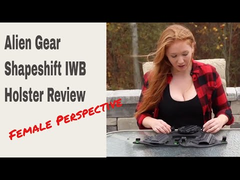 Kim's Female Perspective: Alien Gear Shapeshift IWB Holster Review