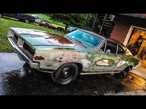 RATTY 1969 CHARGER GETS NEW BRAKES!