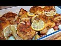 Baked Lemon Chicken with Garlic Lemon Cream Sauce | Oven Baked Chicken Recipe