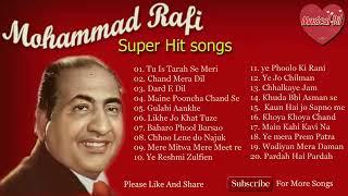 Mohammad Rafi ke Super Hit Gaane !! Muhammad rafi song