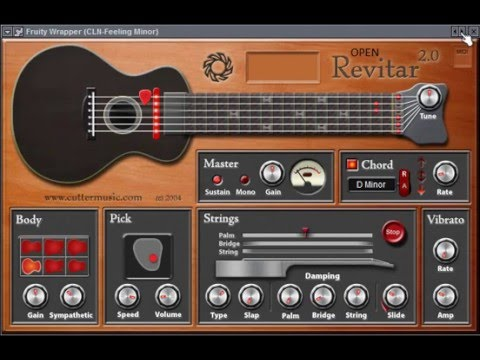 revitar 2 free guitar vst instrument youtube. Black Bedroom Furniture Sets. Home Design Ideas