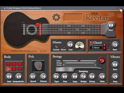 revitar 2 free guitar vst instrument youtube. Black Bedroom Furniture Sets. Home Design Ideas