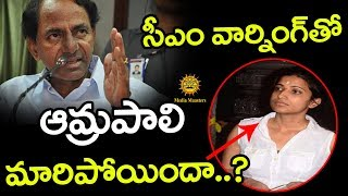 Collector Amrapali Behavior Changed After CM KCR Warning | Media Masters