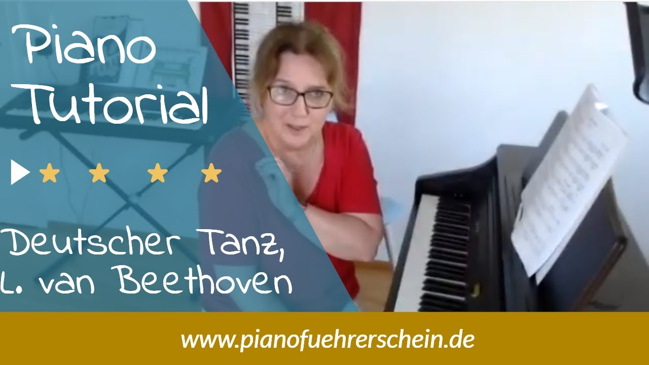 Download 🎹   DeutscherTanz, Beethoven - Tutorial