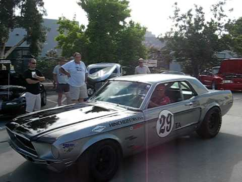 Need For Speed Mustang >> Historic 1968 Mustang Trans Am Race Car - YouTube
