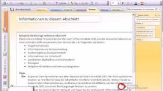 Onenote Tutorial Deutsch Grundlagen
