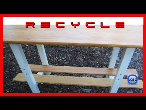 #Iamacreator Recycle Material For Free All Purpose Table