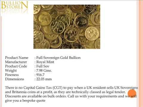 Choose Gold Bullion and Silver Bullion from Bullion Store