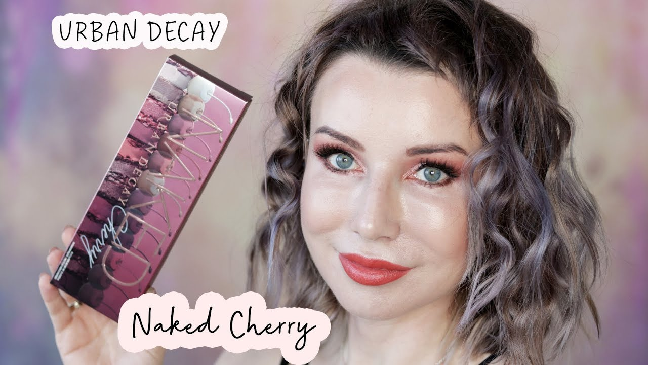 Urban Decay Naked Cherry Palette Recenzja i Tutorial | DELICIOUS BEAUTY