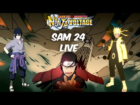 S.A.M. 24 Gameplay Live Streaming | Add 1 In Your Name To Join | Naruto X Boruto Ninja Voltage