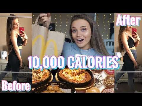 10,000 CALORIE CHALLENGE! EPIC cheat day🤤