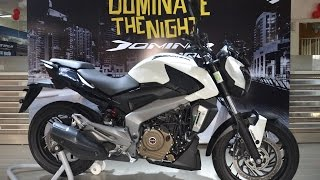 BAJAJ DOMINAR 400 | FULL REVIEW | EXHAUST SOUND | TEST RIDE | WALKAROUND | PULSAR CS400