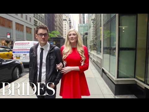 Menswear and Registry with Elle Fowler & Alex Goot: Brides Live Wedding Episode 2