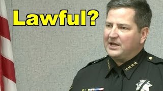 Local News Lets Sheriff Get Away With Breaking Law?