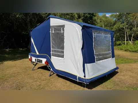 Comanche Montana 4 Berth Trailer Tent