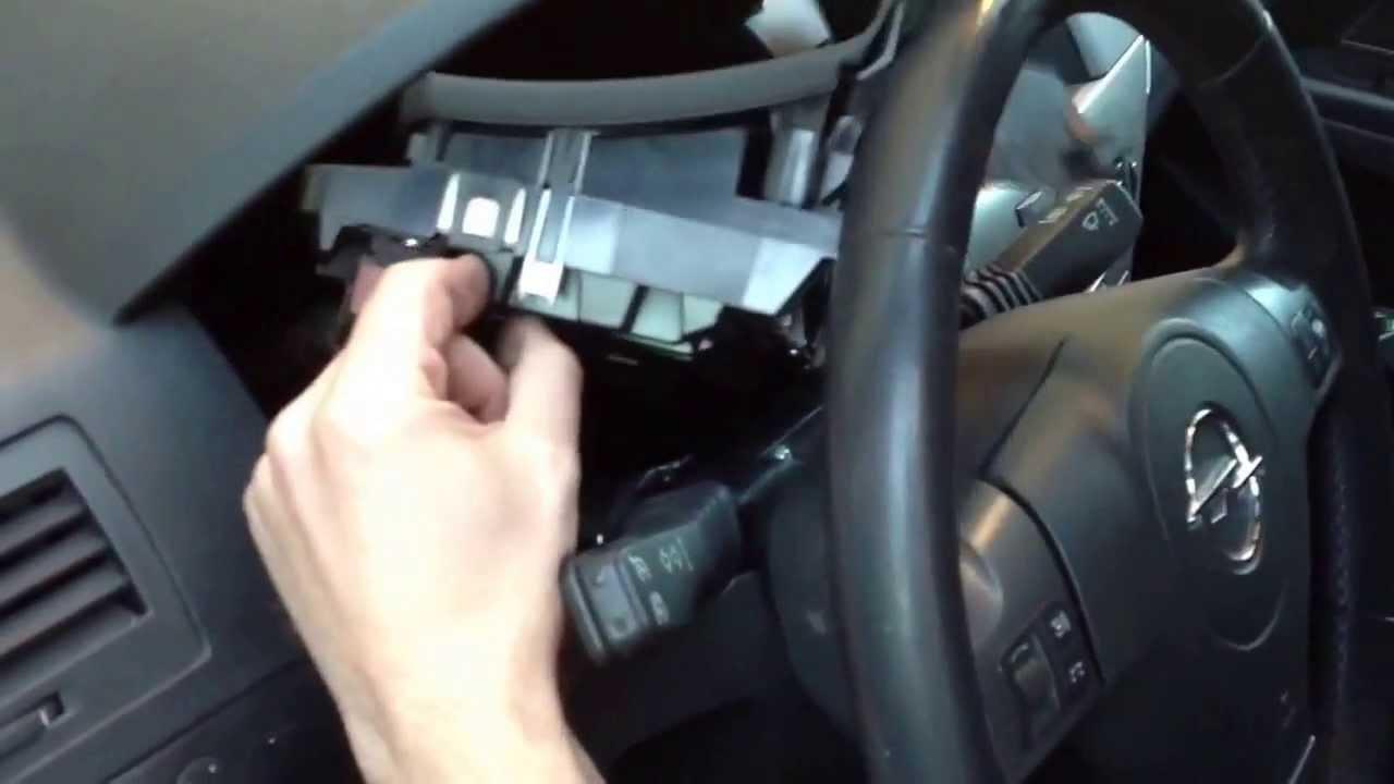 Wiring Diagram For Ford E 150 2010 Opel Astra H Quitar Cuadro De Instrumentos Youtube