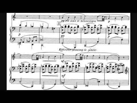 Francis Poulenc - Sonata for Clarinet and Piano