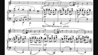クラリネットとピアノのためのソナタ