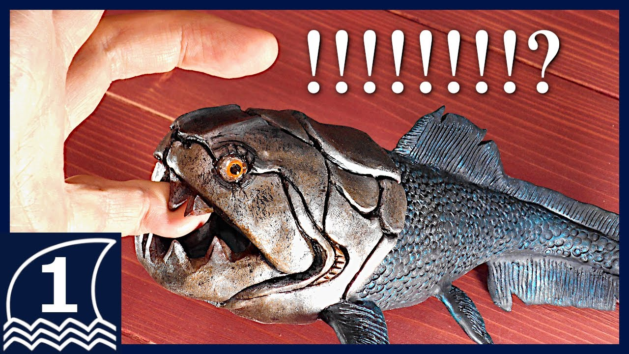 Sculpting DUNKLEOSTEUS【making an ancient sea monster ダンクレオステウスの作り方 】