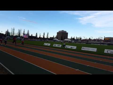 Peter Snider CTAF Champs 100m