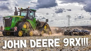 JOHN DEERE 9RX Tractor | Köckerling Vector Cultivator | 9620 RX | Cultivating