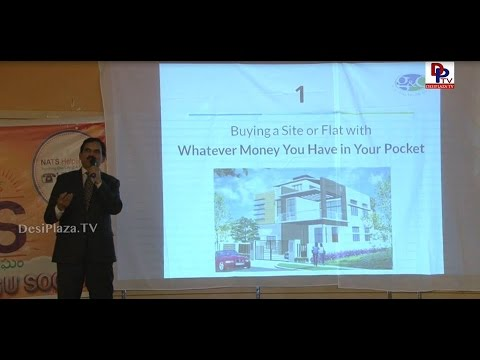 NATS Presents Real Estate Expert AVR Chowdary, G&C Global Consortium || DesiplazaTV