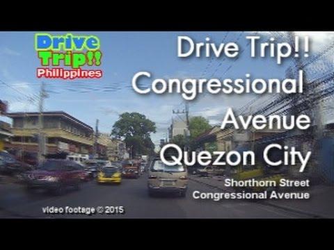 Drive Trip!! - Congressional Avenue QC / Philippines