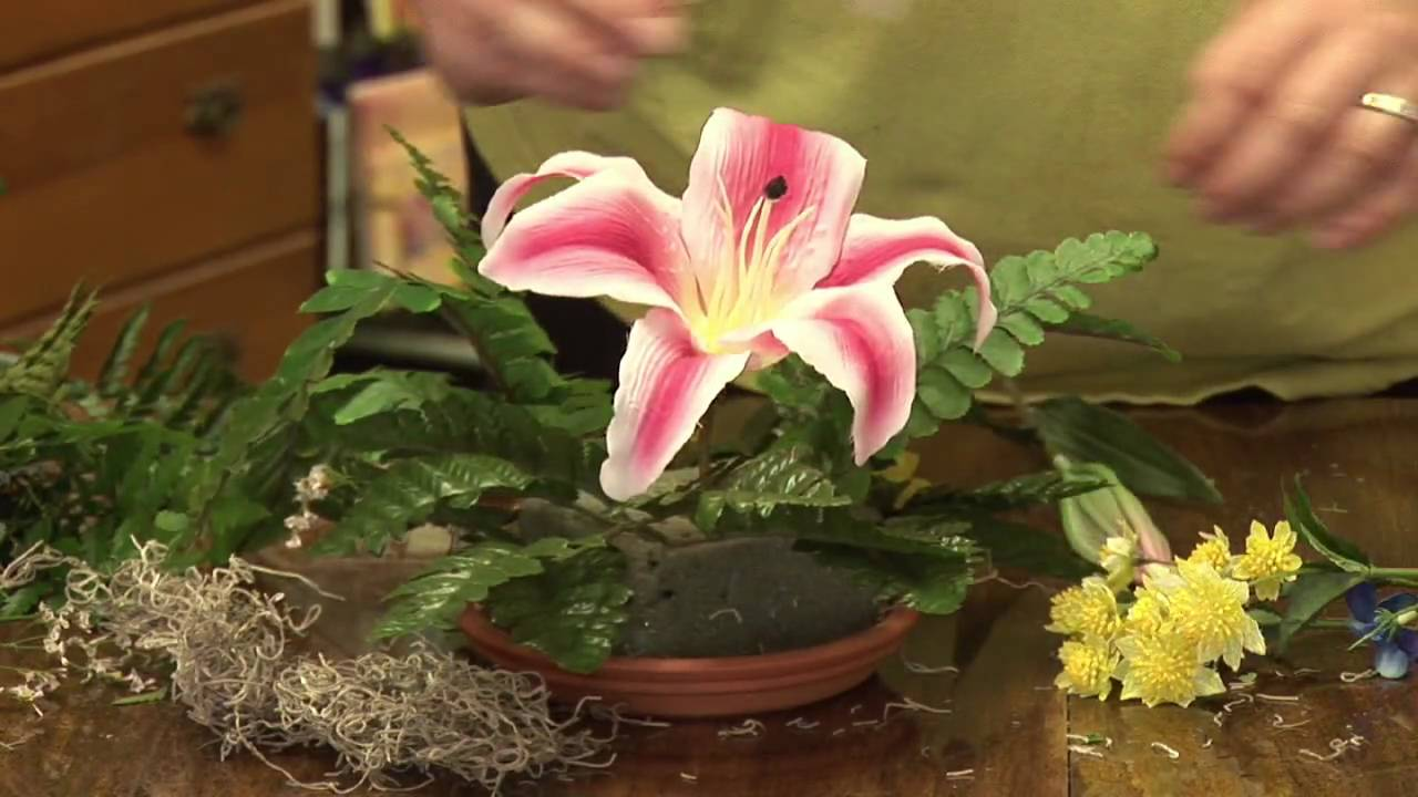 flower arrangements how to make artificial flower
