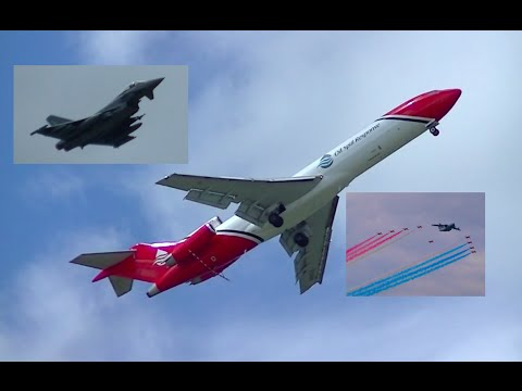 Farnborough International Airshow - Highlights Video - 16th July 2016