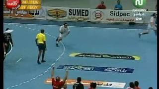 بطولة افريقيا لكرة اليد مصر 2010 لحظات فوز تونس