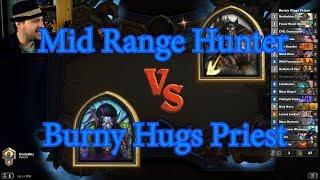 Burny Hugs Priest vs Mid Range Hunter | Hearthstone
