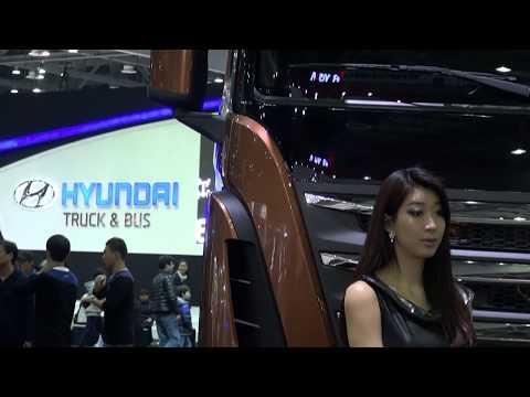 Hyundai Truck Trago Xcient dump truck