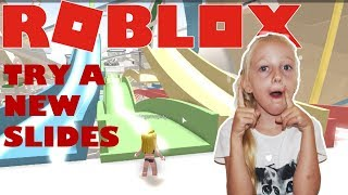 Roblox Robloxian Waterpark. Try new Slides.