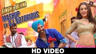 Singh Is Bliing: Mashup by DJ Notorious | Akshay Kumar & Amy Jackson