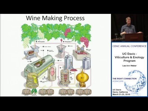 Cenic 2016 Conference:  UC Davis  Viticulture & Enology Program