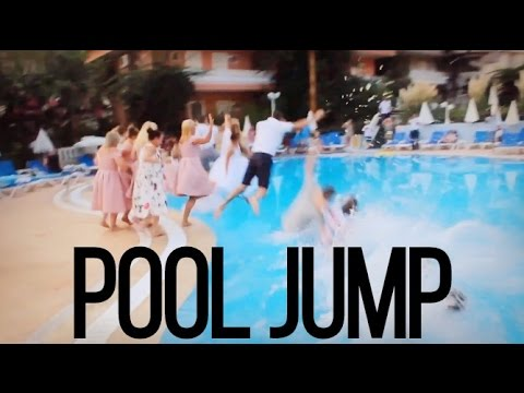 turquoise hotel oludeniz turkey wedding pool jump