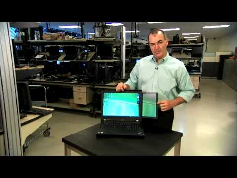Lenovo ThinkPad W700ds dual screen mobile workstation walkthrough