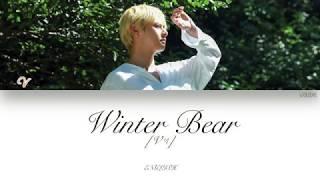 [ENG] V (뷔) - Winter Bear (Color Coded Lyrics)