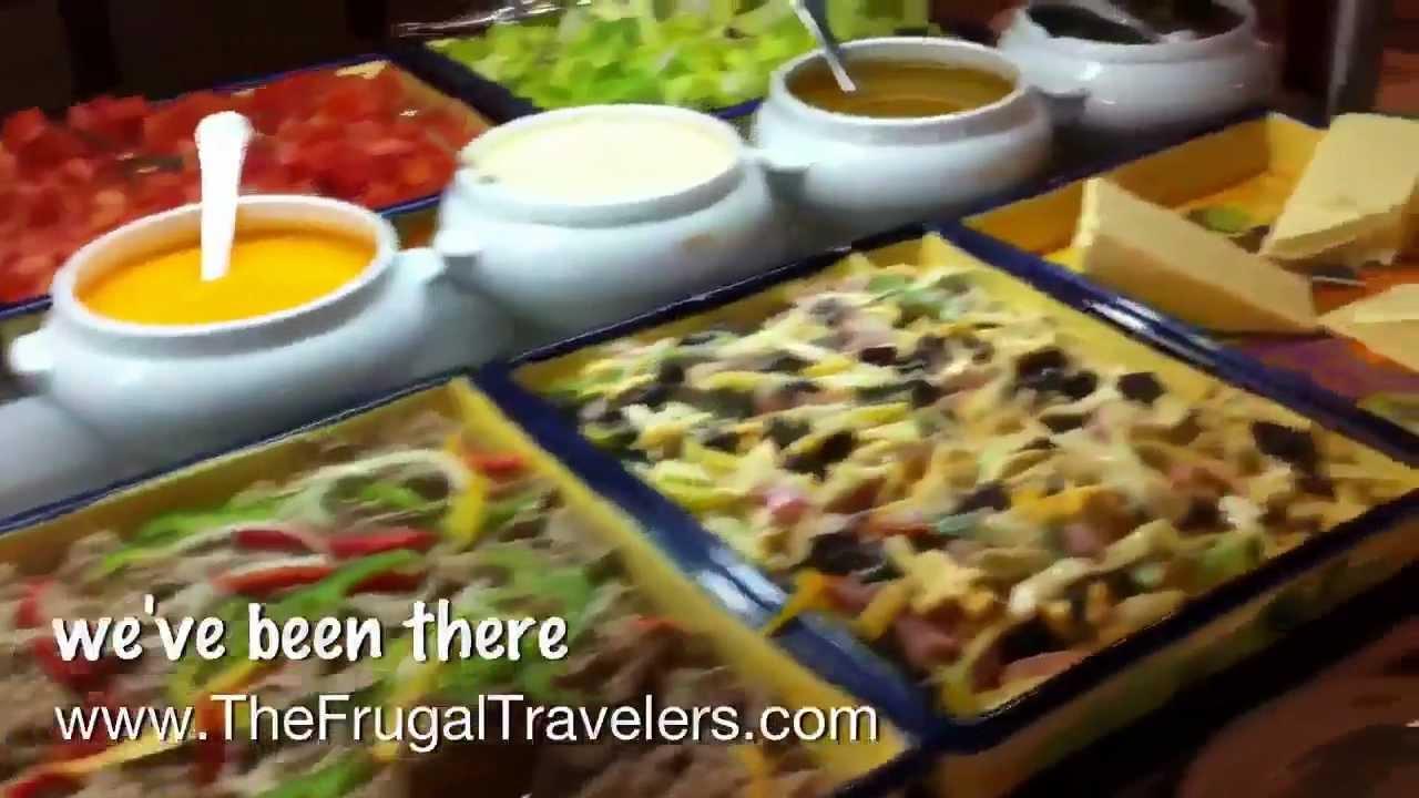 Riu Paradise Island Breakfast Buffet Youtube