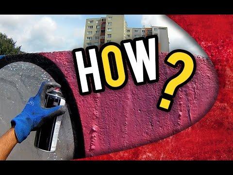 How to do GRAFFITI - RAW FOOTAGE