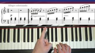 Learn To Play Arabesque (J.F. Burgmuller) - Piano Tutorial Part 1