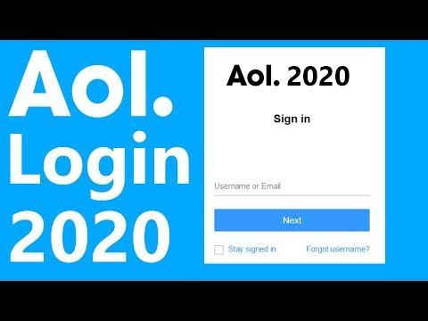 AOL Login | Www.aol.com Login Help 2020 | AOL.com Sign In | AOL Mail